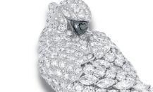 Graff钻石及祖母绿鹦鹉胸针 - 格拉夫珠宝