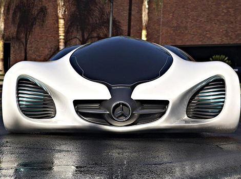 奔驰biome概念车