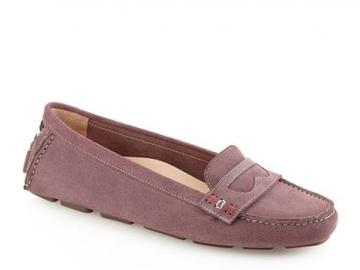 巴利麂皮船鞋