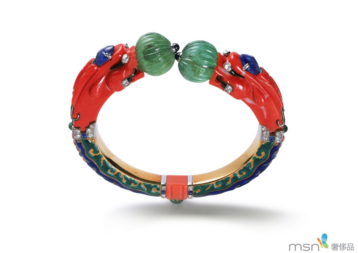 """收藏珍品 """"卡地亚典藏""""1450件珠宝"""