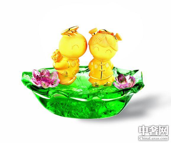 当黄金遇上五彩琉璃 童趣珠宝开启欢庆季