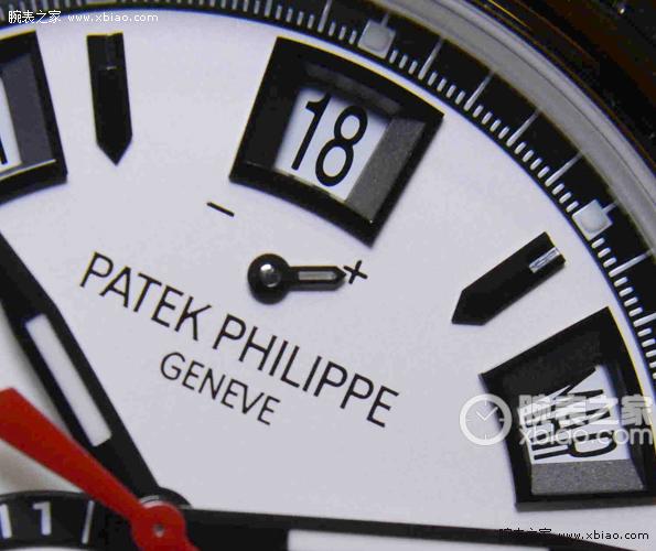 难得一见的组合 百达翡丽年历计时腕表