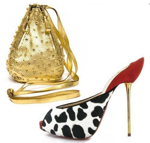 闪亮鞋包超漂亮 让你过足明星瘾