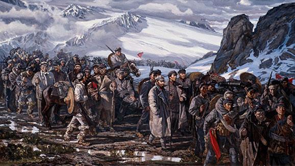 """""""红色记忆""""的挑战:革命历史油画的创新"""