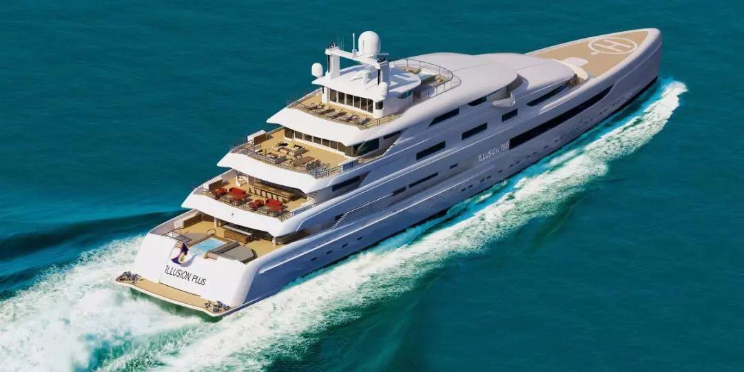88.5米超级游艇完美设计,奢华又舒适