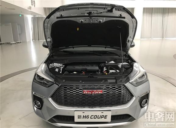哈弗发布全新H6 Coupe 采用全新的造型设计