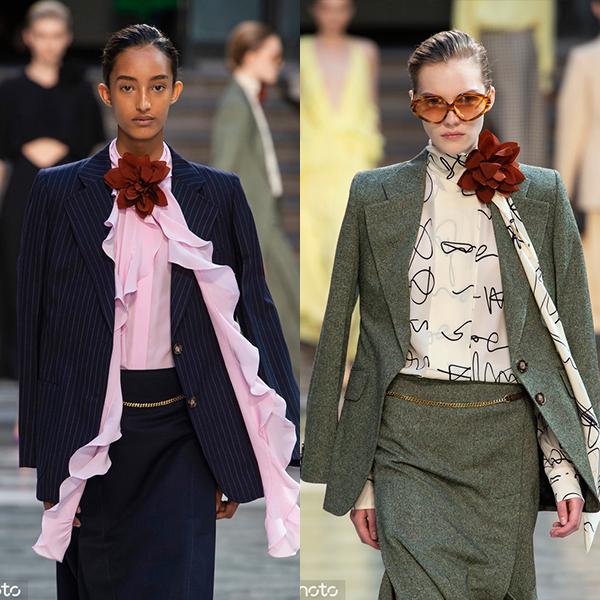 伦敦2020春夏时装周:Victoria Beckham(图片来自东方IC)