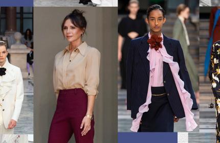 Victoria Beckham知性与性感,打造女人两种理想型