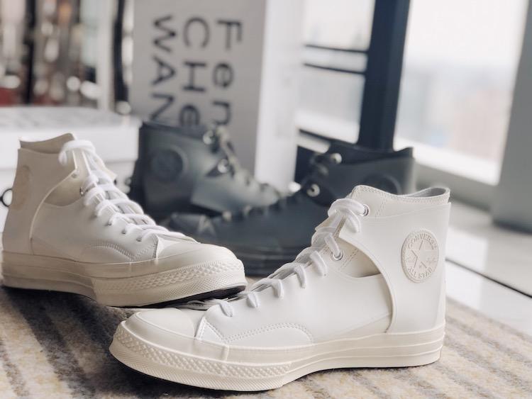 Converse新款小白鞋曝光! 时装周限定设计拼接款式真的太美-2