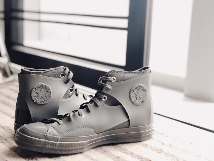 Converse新款小白鞋曝光! 时装周限定设计拼接款式真的太美-3