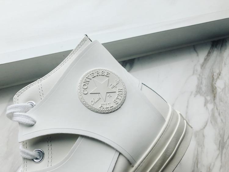 Converse新款小白鞋曝光! 时装周限定设计拼接款式真的太美-4